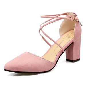 a2134b1a365b SANDALE - NU-PIEDS WoWa® Sandales Femme Chaussures de Été Sandales à ...