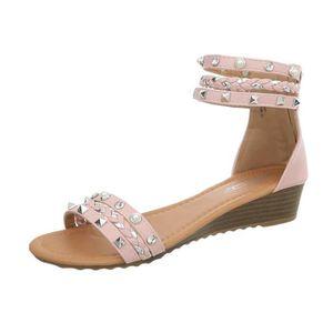 ESCARPIN femmes chaussures sandales semelle compensée Wedge 69ef87ac4226