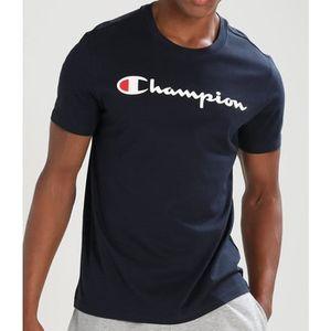 T-SHIRT  T-shirt Champion 210972 Noir.