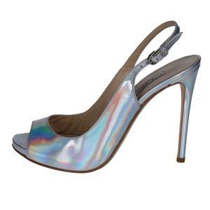 SANDALE - NU-PIEDS THE SELLER Chaussures Femme Sandale cuir Argenté B