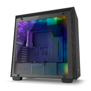 BOITIER PC  NZXT Boîtier PC H700 Noir (CA-H700B-B1)
