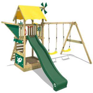 STATION DE JEUX Aire de jeux WICKEY Smart Chase, Portique en bois