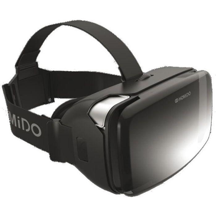 Homido V2 Casque de réalité virtuelle Noir