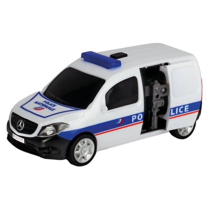 DICKIE SOS Véhicule de Police + Radar 20 cm