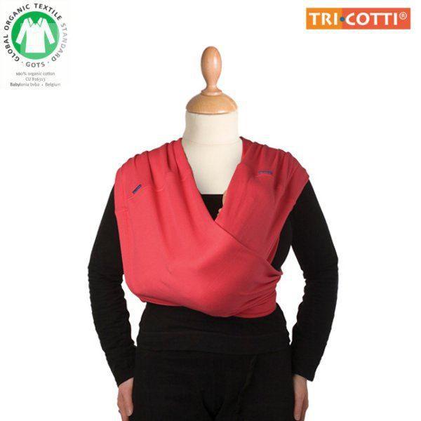 Echarpe de portage TRI.COTTI 100% coton Bio - M… Rouge - Achat ... 85939c6e87c