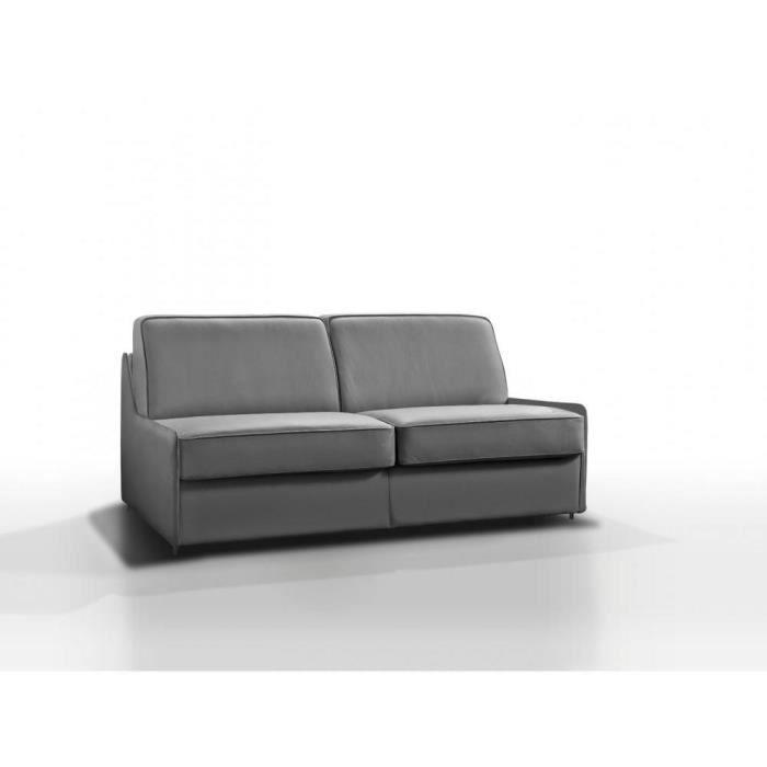 Canapé lit compact 3-4 places ARPEGIO OUVERTURE RAPIDO 160 cm cuir ...