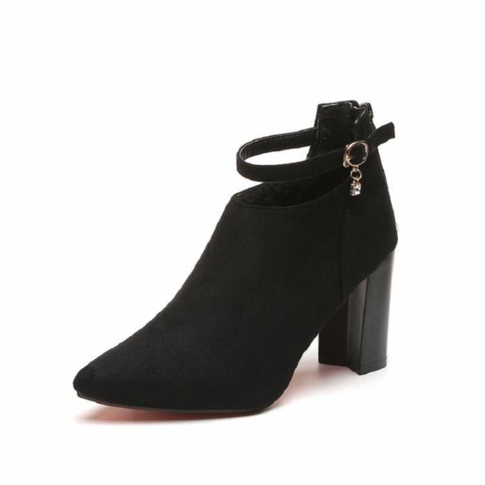 Escarpins femme Nouvellesà talons hauts Élégant et confortable Chaussures Femmes Pompes Chaussures de mariageBYLG-XZ234Noir35 siCwn