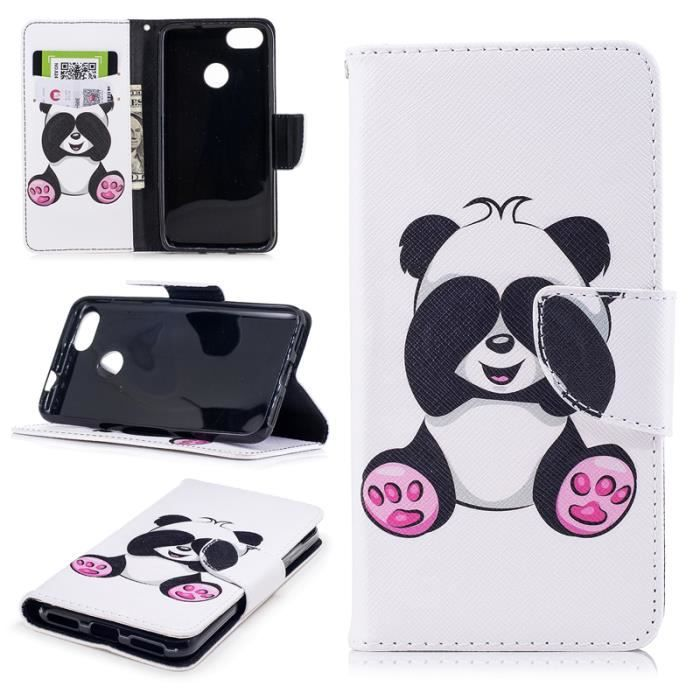coque panda pour huawei y6 2017