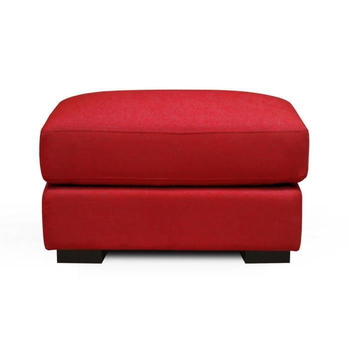 santory romantica pouf en tissu rouge achat vente. Black Bedroom Furniture Sets. Home Design Ideas