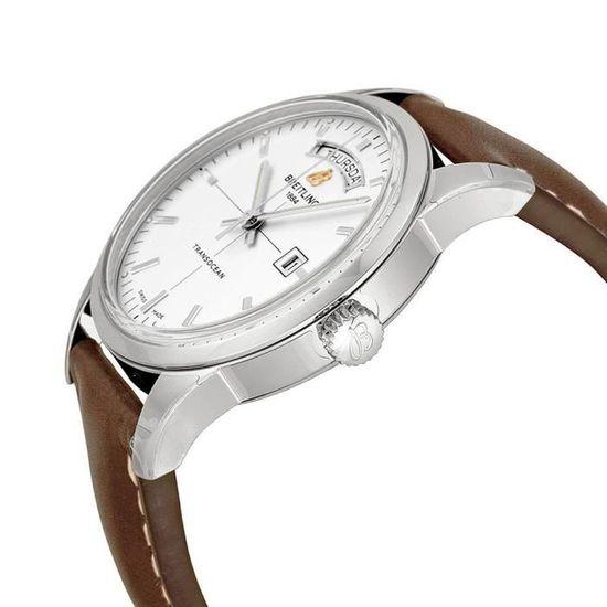 Breitling Transocean Day   Date A4531012 G751 435X montre mécanique homme ,  - Achat vente bracelet de montre Homme Adulte - Soldes  dès le 9 janvier ! 32ee14ad455