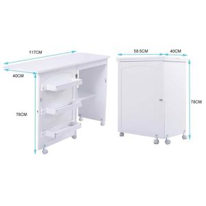 machine a coudre avec table achat vente machine a coudre avec table pas cher cdiscount. Black Bedroom Furniture Sets. Home Design Ideas