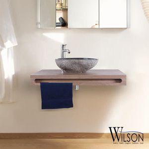 Meuble vasque suspendu salle de bain en 90 cm - Achat / Vente ...