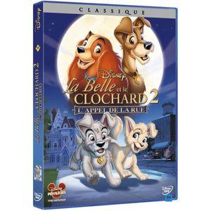 DVD DESSIN ANIMÉ DVD La belle et le clochard 2 : l'appel de la rue