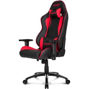 SIÈGE GAMING AKRACING Fauteuil Gaming Nitro Noir et Rouge