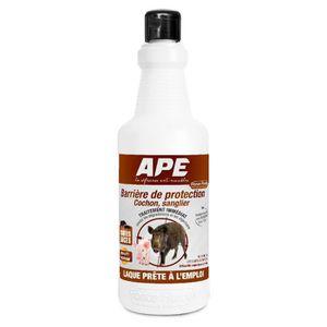 RÉPULSIF NUISIBLES MAISON Répulsif sanglier, cochon en laque Ape - Bibon 1l