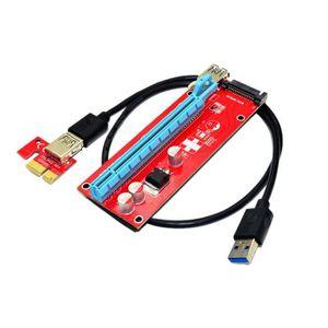 CÂBLE E-SATA Adaptateur de carte de rallonge USB3.0 1x à 16x Câ