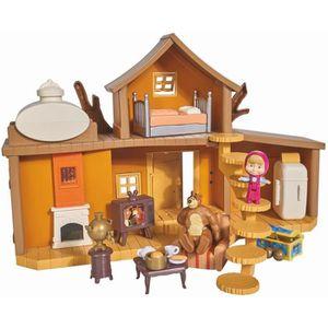 ACCESSOIRE DE FIGURINE MASHA & MICHKA Smoby Maison Michka 2 étages