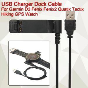 CÂBLE INFORMATIQUE USB Chargeur Câble Pr Garmin D2 Fenix Fenix2 Quati