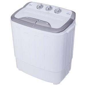 MINI LAVE-LINGE Machine à laver 3,6 kg Semi-automatique à Double B
