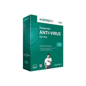 ANTIVIRUS Kaspersky Anti-Virus 2014 (1 poste / 1 an)