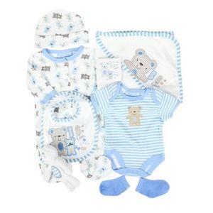 Ensemble de vêtements Parure de naissance 7 pièces motif nounours - bébé