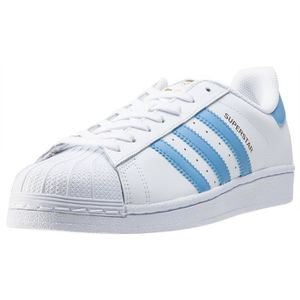 adidas Superstar Foundation Hommes Baskets White Blue - 7 UK