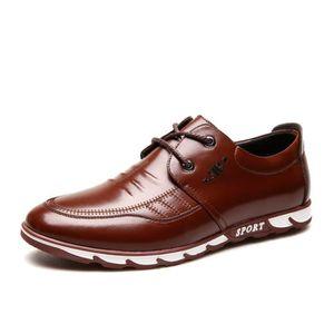 DERBY Chaussures En Cuir Homme Soulier Habillées Chaussu