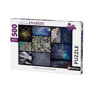 PUZZLE Puzzle La France vue par Thomas Pesquet 500 pcs