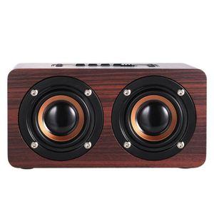 HAUT-PARLEUR - MICRO W5  Haut-parleur Bluetooth  4.2 Dual Louderspeaker