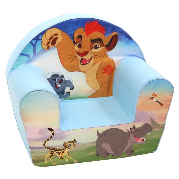 Chambre Bébé Le Roi Lion : Le roi lion fauteuil bleu et brun achat vente