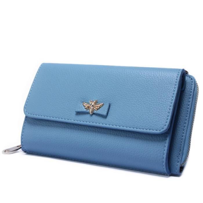 Portefeuilles de luxe Mini sac à main avec sac à bandoulière amovible TBAIC