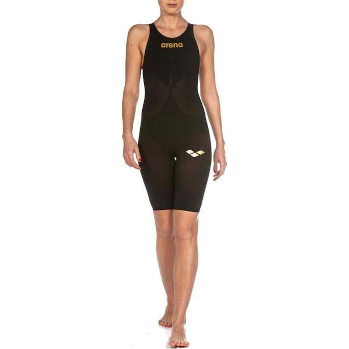 0db677051f Combinaison de natation Arena W Powerskin Carbon Air coloris Black - Black  - Gold