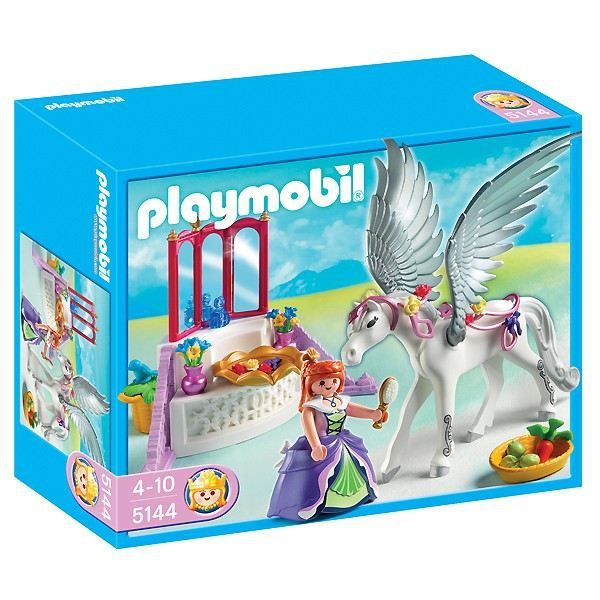 Playmobil 5144 Cheval Ail 233 Coiffeuse Princesse Achat