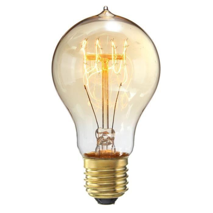 Incandescence Antique 6 A19 Blanc Chaud Nostalgie À Pour Lampe Idéal Et 220v Ampoules Edison Filament Eclairage Pack Vintage 40w E27 nfrxzfwXqH