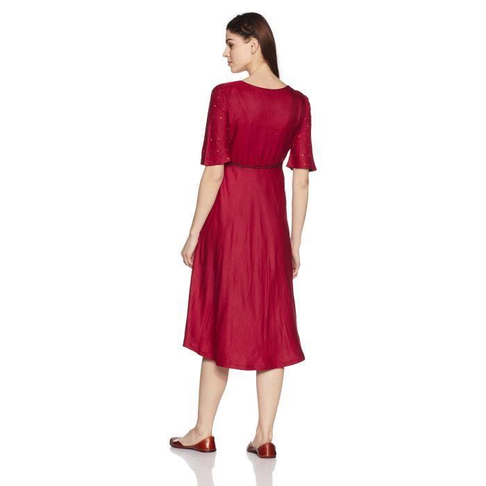 Womens Shift Midi Dress EJTHP Taille-36