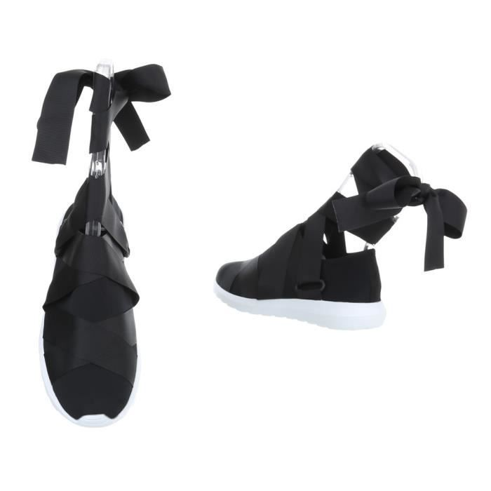 femmes chaussures Loisirs Chaussures Sneakers noir 36 UlEShWggD