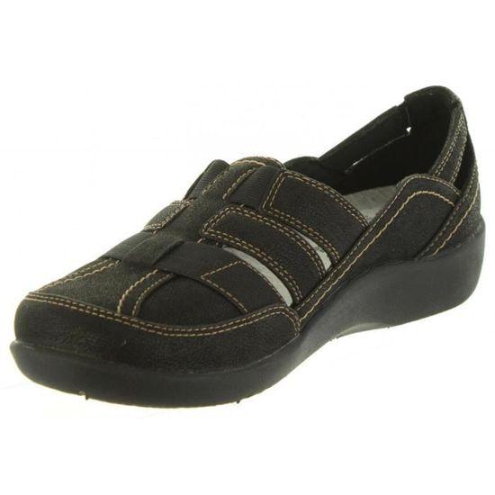 Femme pour SILLIAN 26125891 Sandales Achat Noir Noir BLACK CLARKS a5dRq