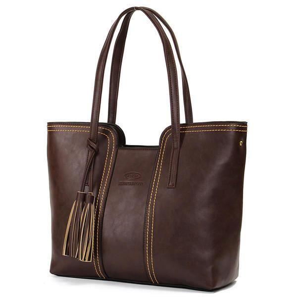 SBBKO1619Femmes rétro gland sacs fourre-tout dames sacs à bandoulière occasionnels Crossbody Noir