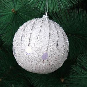 KIT DE DECORATION Boules de Noël de strass de paillettes de boule dé