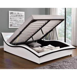 STRUCTURE DE LIT Magnifique Lit Sleepi - Structure de lit en simili