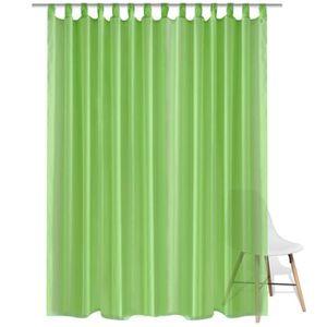 rideaux voilage vert achat vente rideaux voilage vert pas cher soldes d s le 10 janvier. Black Bedroom Furniture Sets. Home Design Ideas