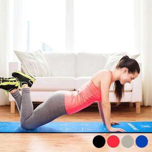 SOMMIER Tapis d exercices de sol fitness sport Couleur - G