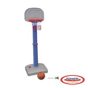 PANIER DE BASKET-BALL FUNBEE Panier de basket sur socle ajustabe et ball