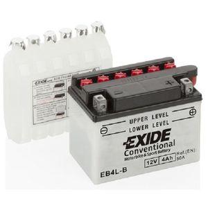 BATTERIE VÉHICULE EB4L-B YB4LB YB4L-B, EXIDE Batterie de démarrage E