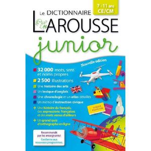 DOCUMENTAIRE ENFANT Livre - Larousse dictionnaire junior 7/11 ans