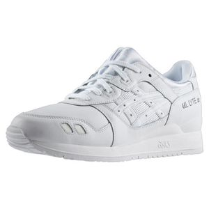 cheap for discount 7054d c798e BASKET CHAUSSURES ASICS GEL LYTE III WHITE