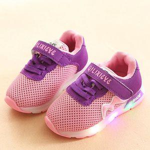 BASKET Enfant en bas âge Mesh Chaussures enfants bébé Pat