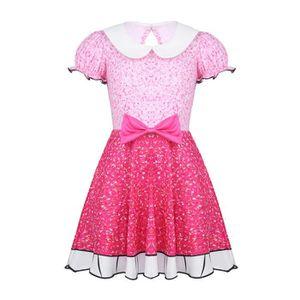 8f18eaeeb6762 ROBE Robes Princesse Enfant Fille Bowknot Imprimé en De