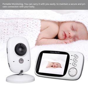 ÉCOUTE BÉBÉ Video Baby Phone sans fils avec Microphone et Noct