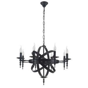 lustre baroque noir achat vente pas cher. Black Bedroom Furniture Sets. Home Design Ideas